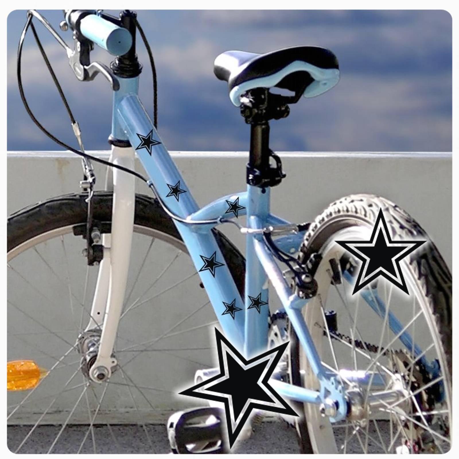 Fahrrad Aufkleber Retro