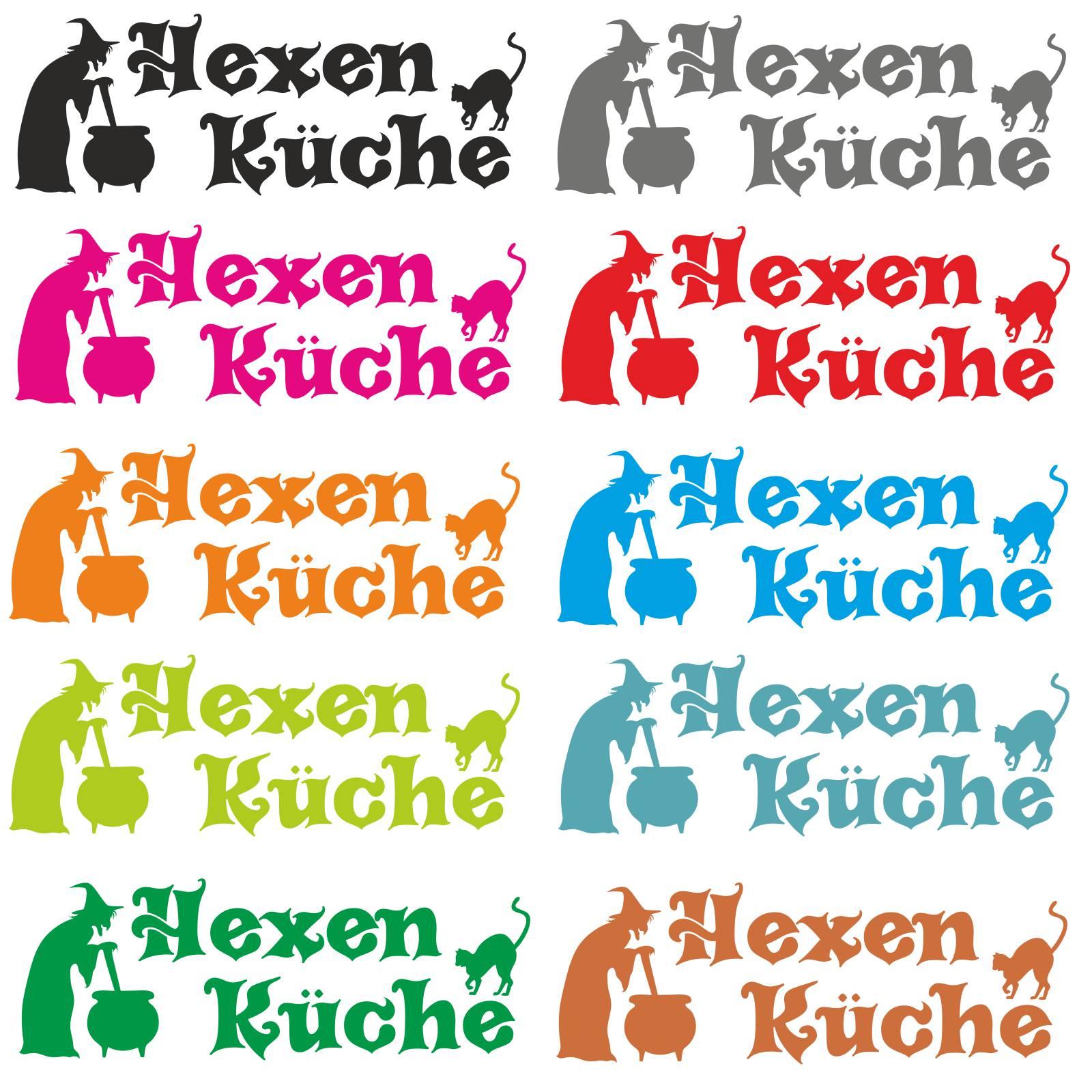 Hexenküche Wandtattoo Wandaufkleber Sticker Hexen Küche Türaufkleber ...