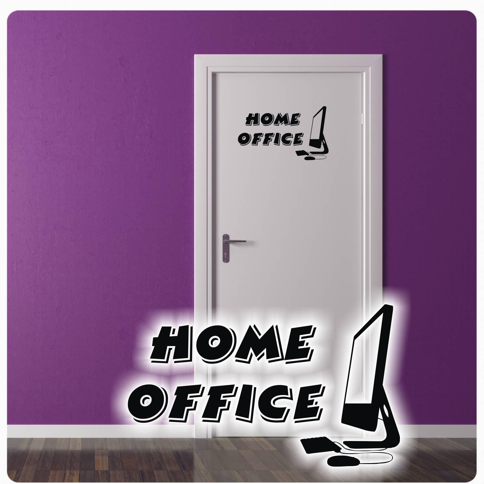 Home Office Buro Turaufkleber Wandtattoo Tur Aufkleber Sticker