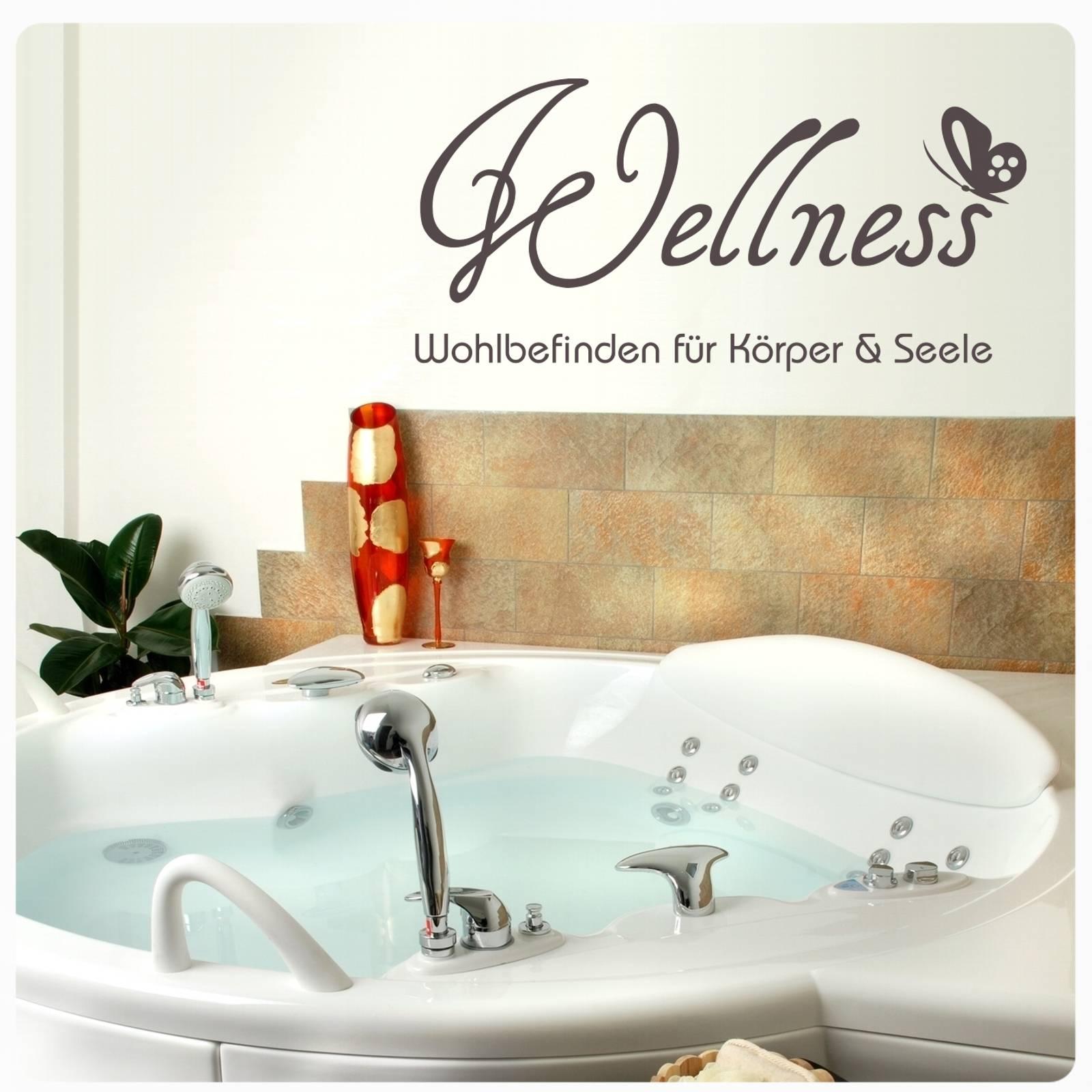 Wandtattoo Wellness  Wohlbefinden Für Körper U0026 Seele